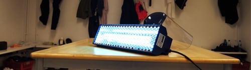 UV light for disinfection_Lyngby Boldklub_UV BARx1_EFSEN