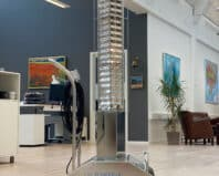 UV TOWERx8 in office