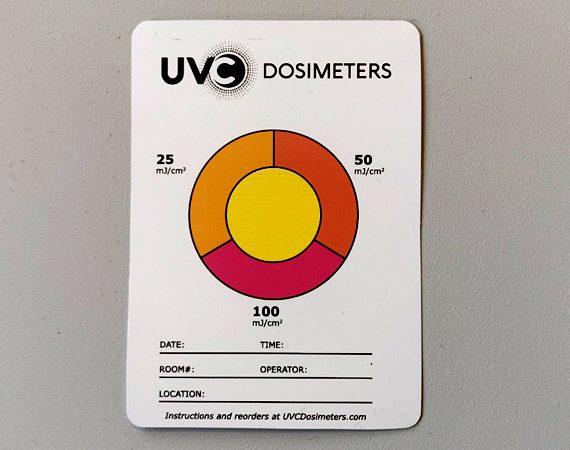 uvc dosimeters