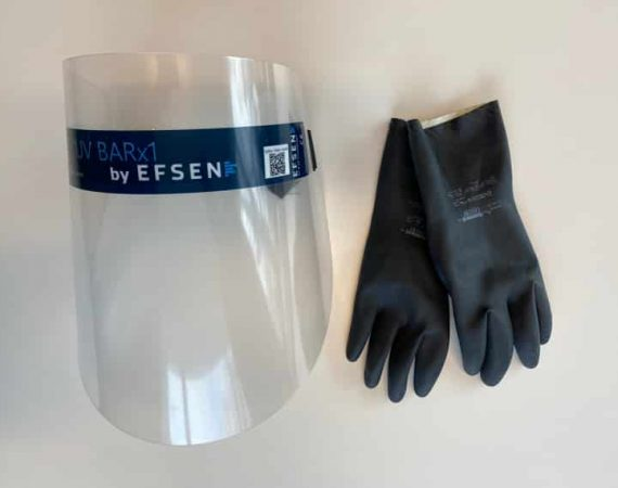 other products protective gloves and visor